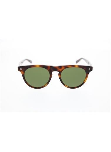 Ermenegildo Zegna  Ez 0095 52N Unısex Güneş Gözlüğü Yeşil